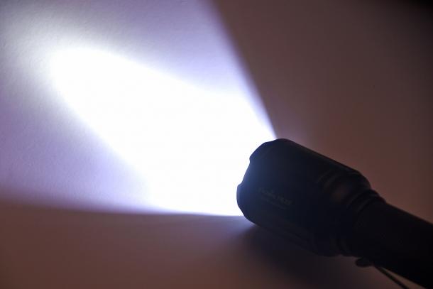 White light...