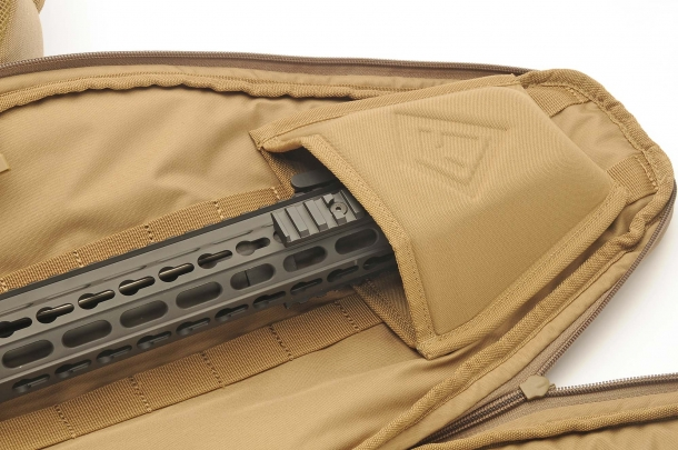 The barrel mount inside the Rifle Sleeve