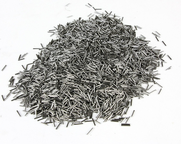 Five pounds of stainless steel pins are issued from factory with every Lyman Cyclone tumbler