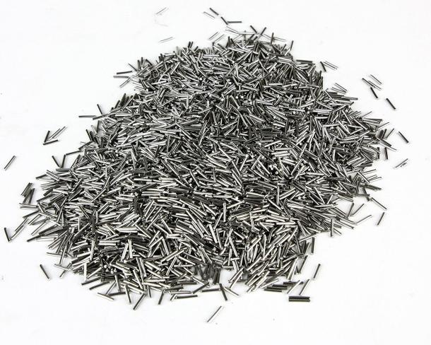 Gli aghi in acciaio inossidabile forniti in dotazione col pulitore Lyman Cyclone