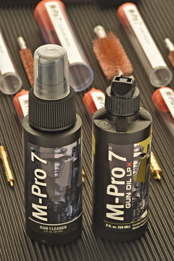 Some of the components of the M-Pro7 kit can be restocked individually if required