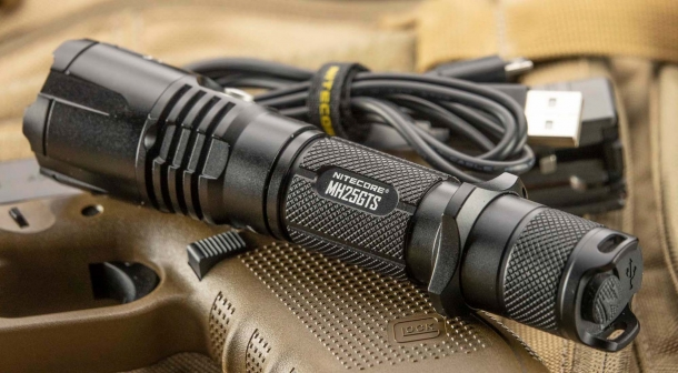 Nitecore MH25GTS multitask hybrid flashlight