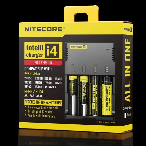 Il nuovo caricabatterie i4 è il compagno ideale per le torce TM03 CRI e TM28
