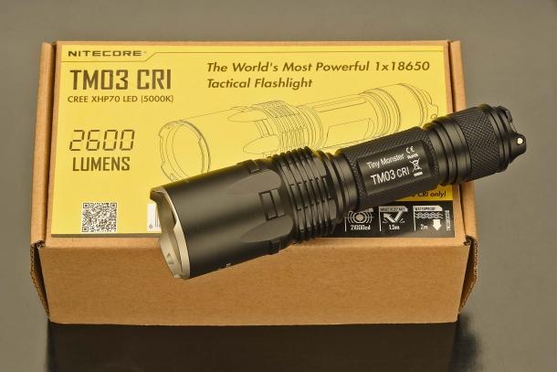 Torce Nitecore TM03 CRI e TM28: piccoli mostri di potenza!