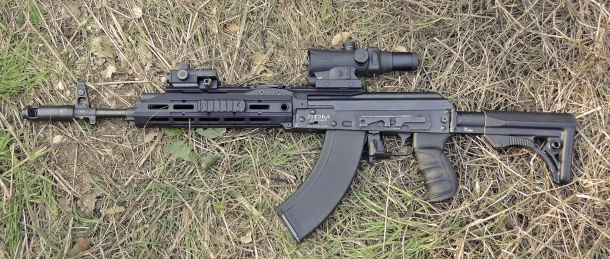 The SDM AK-103s was submitted to a 300 rounds rapid-fire test immediately after the installation of the SAG AK Chassis MK2