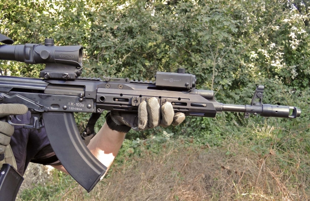 The SAG AK Chassis MK2 is made to improve stability, balance and accuracy of the gun even in rapid fire