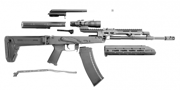 "The SAG AK Chassis MK2 is not ""just"" an accessory, but a full modernization system for the AK/AKM rifle design for sporting, defensive, and professional purposes"