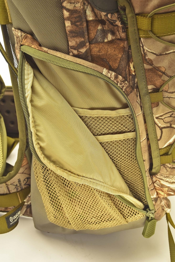 Front left-side utility pocket