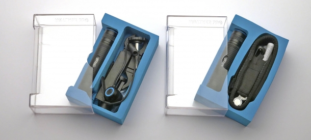 Le torce Walther Pro PL60 e PL60RS hanno molto in comune