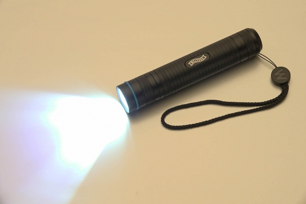The Walther Pro PL60 flashlights are built around an anti-reflex aircraft aluminium tube