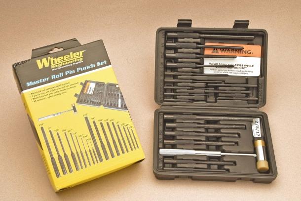 Wheeler Master Roll Pin Punch Set: oltre lo smontaggio da campo