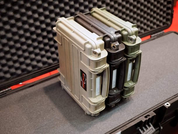 The Explorer Cases 3005 pistol cases are stackable for transport