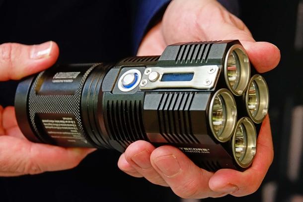 Nitecore's new TM28 offers an astounding 6.000-lumen output