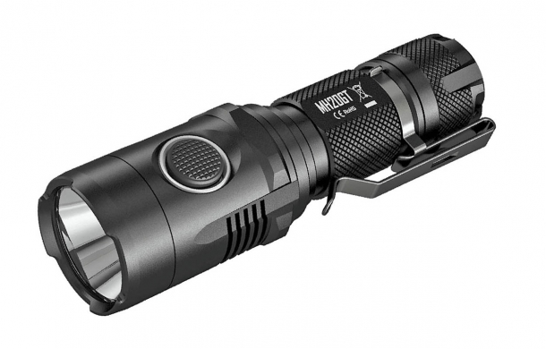 The Nitecore MH20GT flashlight