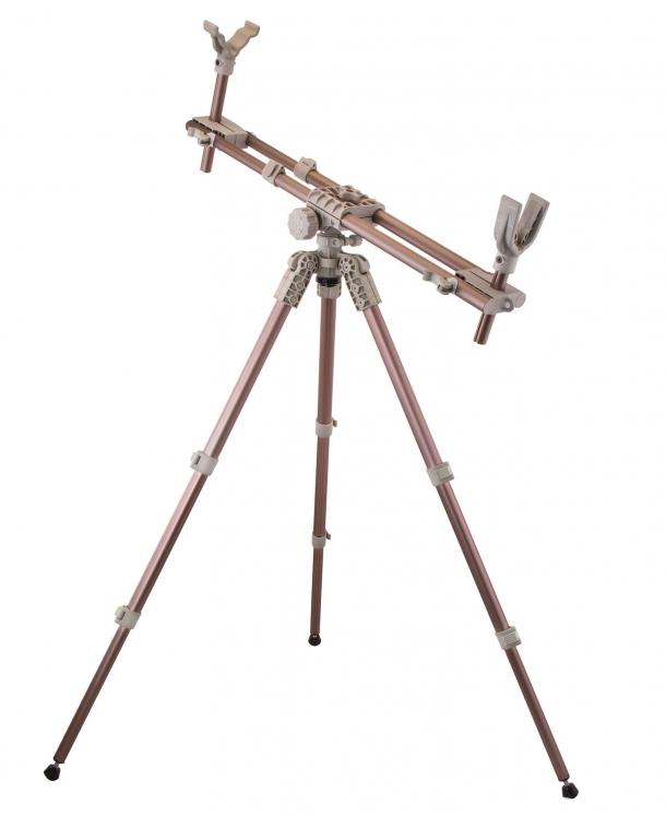 Il DeadShot Fieldpod MAX è compatibile con qualsiasi tipo di arma lunga a canna liscia o rigata, e persino con le balestre