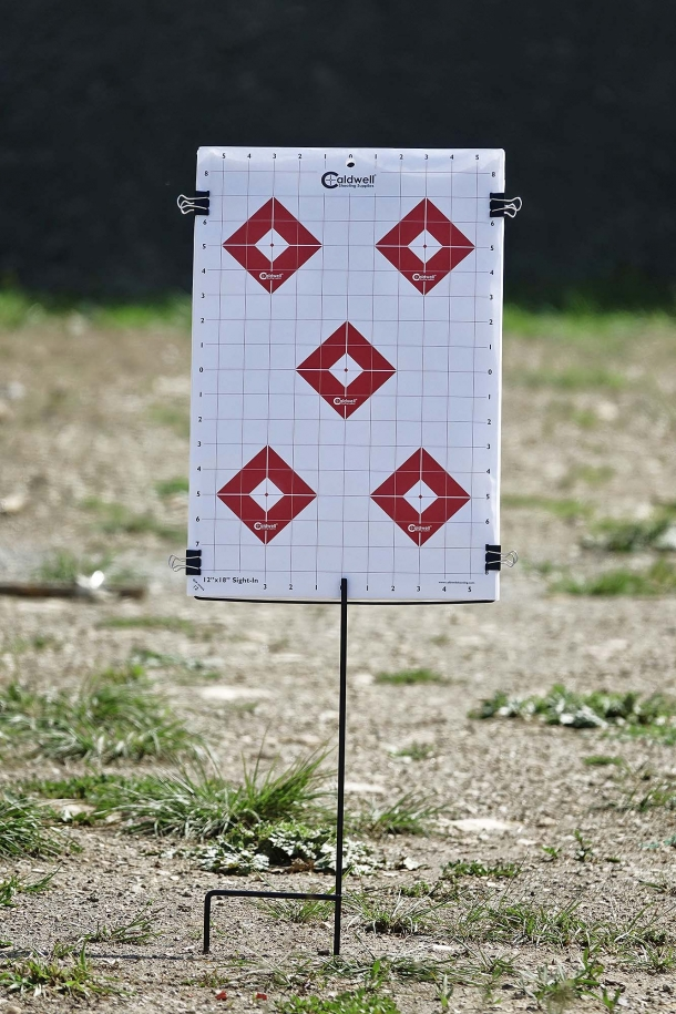 Here it is: ready for your plinking session, or a long-range shooting competition