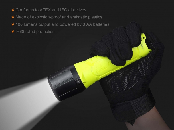 Some of the features of the Fenix SE10 flashlights