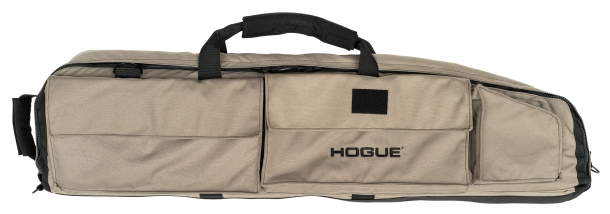 Hogue's new large double rifle bag in FDE