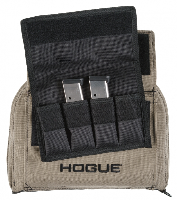 Five pistol bags, five single long gun bags and three double long gun bags are now available from Hogue in flat dark earth