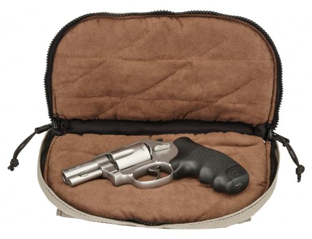 Custodia per armi corte Hogue 'Small Pistol bag': anche questa da oggi è disponibile in color sabbia