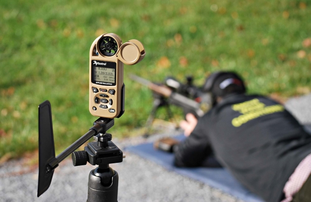 You lay down and shoot, and your Kestrel Weather Meter hit the bullseye!... Well, you already know this is not. But these wonderful tools help a lot, eh?!