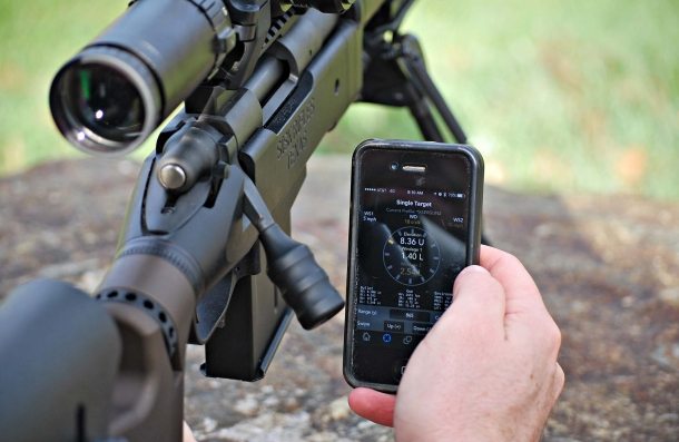 With the Kestrel LiNK® wireless technology your Kestrel Meter... meters, while you verify its information 'from the rifle', by using your smartphone.