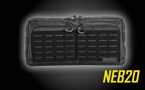 The Nitecore NEB20 bag