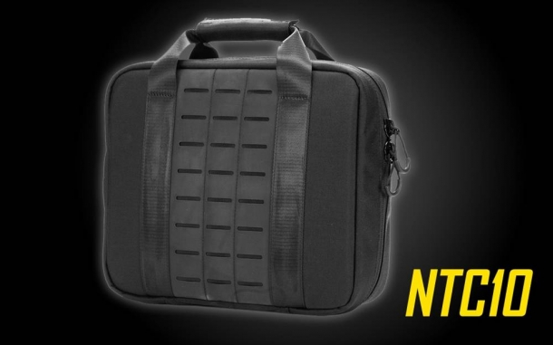 The Nitecore NTC10 Tactical Bag was designed for gear storage, every day carry and short trips