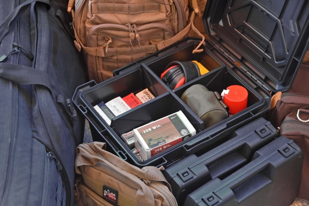 The Plano Tactical Ammo Crate offers a staggering capacity and its storage space can be separated into four dedicated compartments