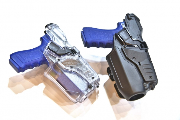 Right: Radar 6687/552AL CRAB-PRO holster