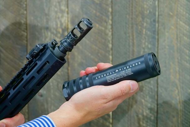 Saimaa Still's suppressors also offer a quick-detach capability
