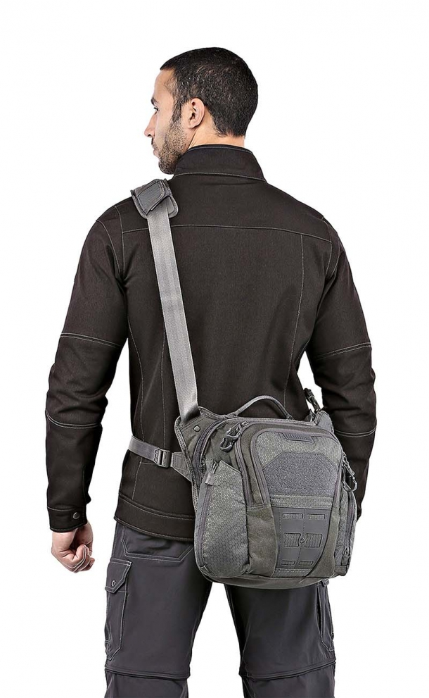 The Maxpedition LOCHSPYR crossbody shoulder bag