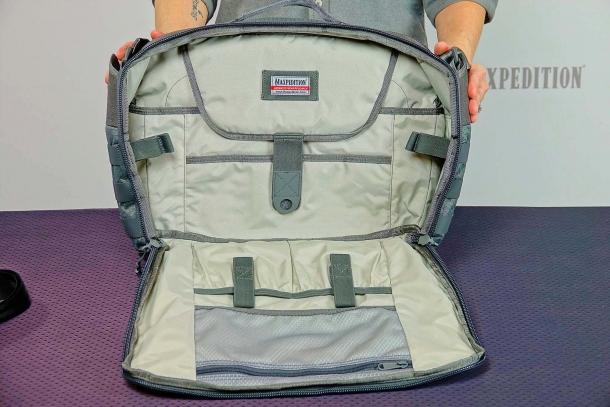 Le borse Maxpedition della serie AGR sono caratterizzate da una grande cura del dettaglio