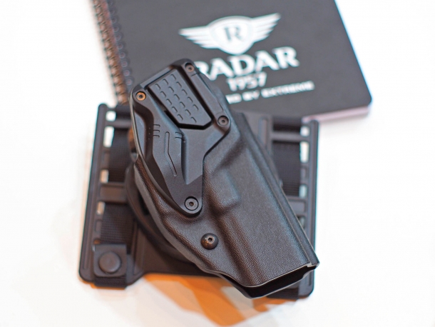 The RADAR 6257 LTG pistol holster, recently adopted by the German Federal Police (Bundespolizei)