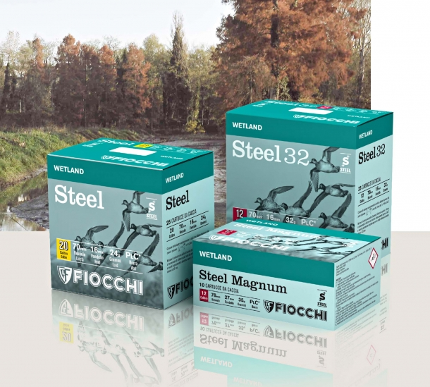 New 2016 Wetland Steel hunting cartridges