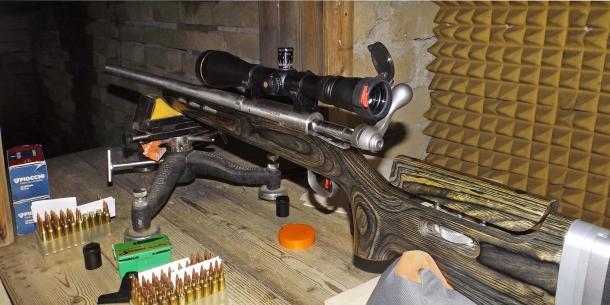 Le prove sono state effettuate utilizzando una carabina SAVAGE 12 F-TR Target in calibro .223 Remington