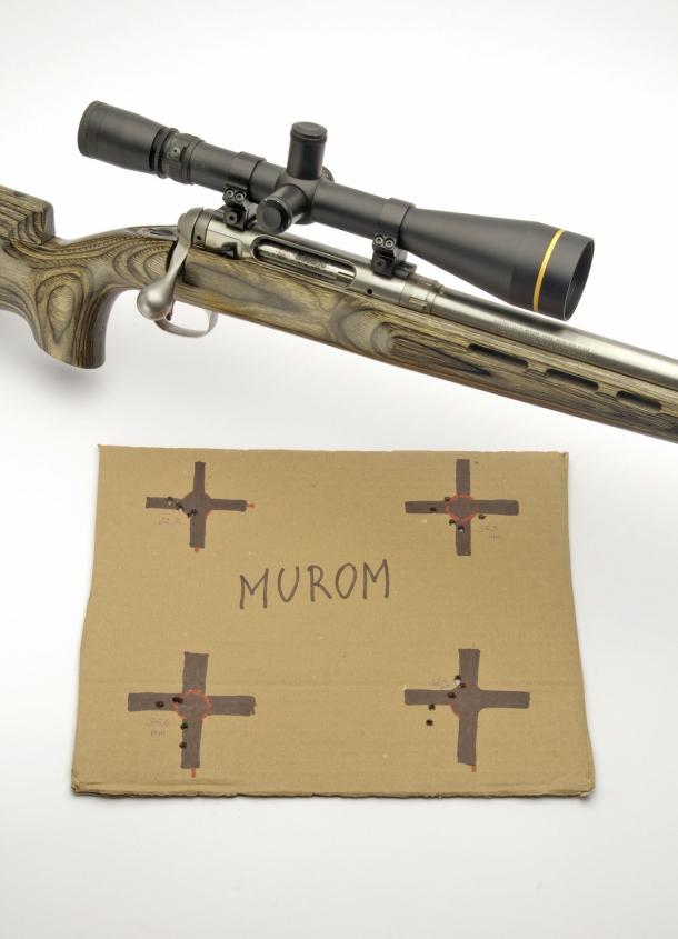 Rosate ottenute con inneschi Murom KVB-223M Small Rifle Magnum