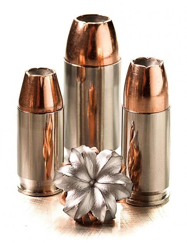 The SIG Sauer V-Crown hollow point bullet design