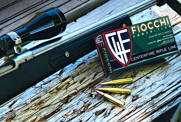 The Fiocchi Exacta Rifle Match ammunition line