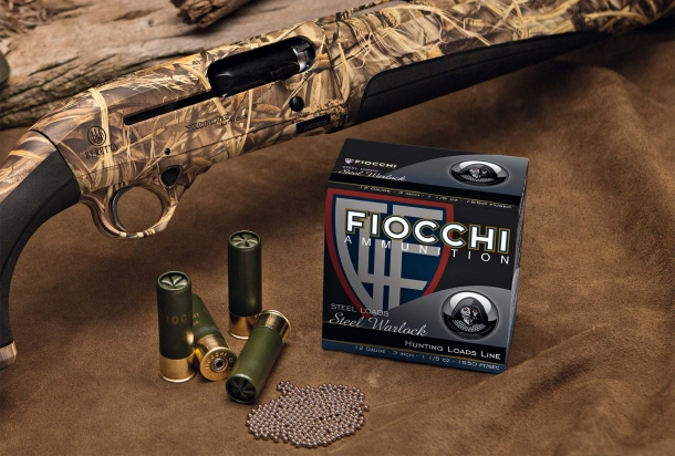 The Fiocchi Steel Warlock shotshell ammunition