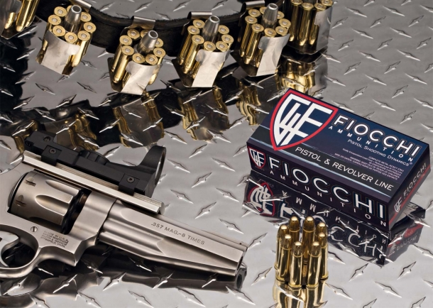 The Fiocchi Pistol and Revolver ammunition line