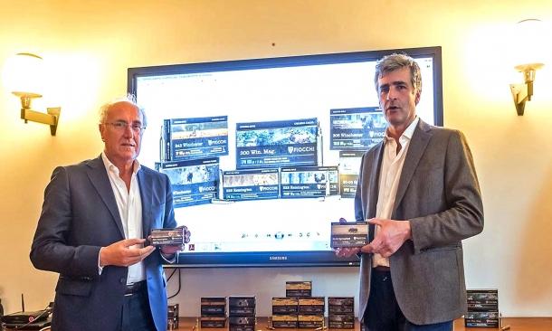 Marzio Maccacaro e Costantino Fiocchi, rispettivamente Responsabile Commerciale e Direttore Tecnico di Fiocchi Munizioni