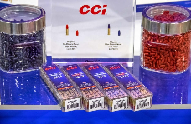 CCI Clean 22 rimfire ammunition