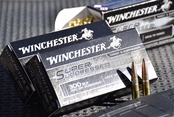 Winchester Super Suppressed ammunition