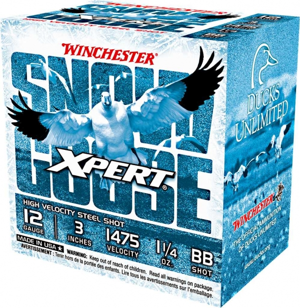 Cartucce da caccia Winchester Xpert Snow Goose calibro 12