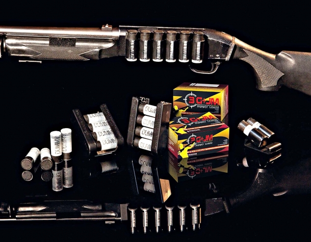 Fiocchi 3G+JM loads for the 3-Gun Match, realized in cooperation with the World Champion Jerry Miculek