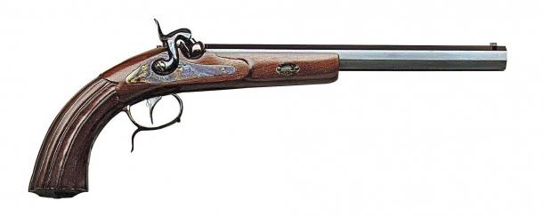 Pistola avancarica Mang