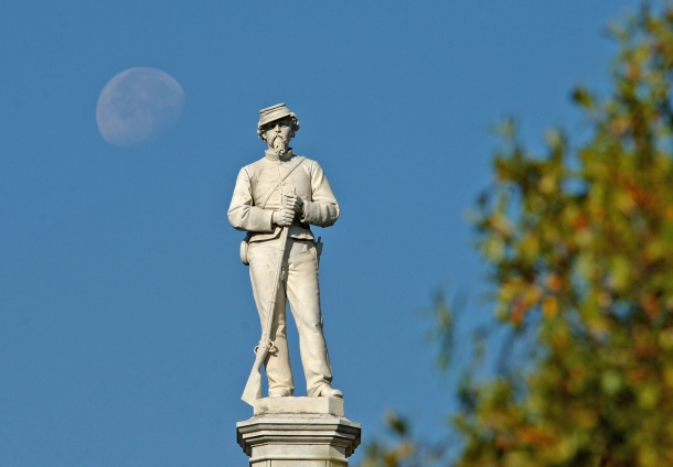 An American Civil War soldier monument
