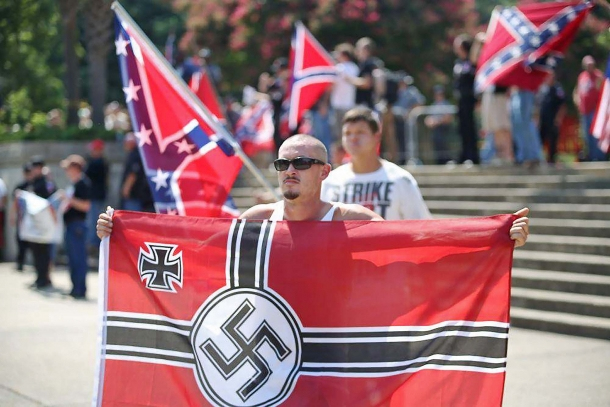 This one yes: a flag that should never be allowed to appear anywhere