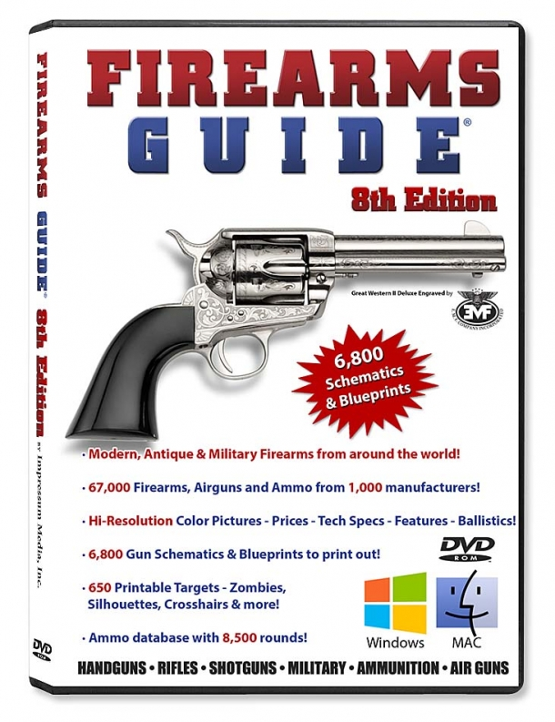 The 8th edition of the Firearms Guide is now available for purchase through the official website